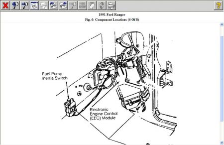 7 3l Fuse Box Diagram moreover 86 F150 Rear Suspension Illustration further 1990 Ford Bronco Fuse Box likewise Polaris Sportsman 500 Engine Diagram Spark Plug moreover Chevrolet O2 Sensor Locations. on 1993 ford f 150 fuse box diagram