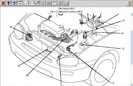 Mazda Miata Fuse Box Wiring Automotive Diagram