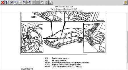 1998 Mercedes E320 Wiring Diagram