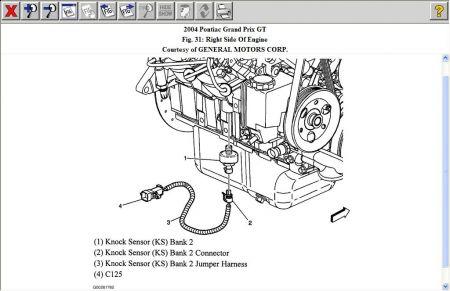 Ks on 2004 Pontiac Grand Prix Exhaust Manifold Diagram