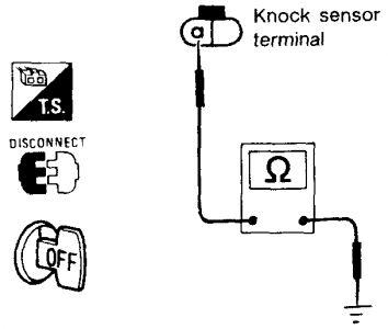 1994 Infiniti J30 Egr Valve and Knock Sensor