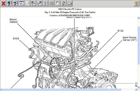 12900_ks_4 2003 chrysler pt cruiser knock sensor code from auto zone pt cruiser engine diagram at creativeand.co