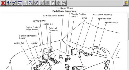 1995 lexus es 300 component location where are the two  lexus e300 1995 wiring diagram #5
