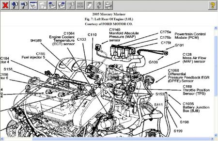 Ford 2 3l Engine Diagram as well Outboardmotor also Infiniti Qx56 Fuse Box Location additionally Bayliner Wiring Diagram additionally T4158360 Oil sending unit 1996 ford. on 2003 mercury mariner