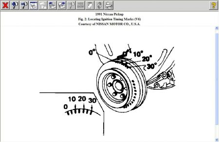 40 Pin 3406e Ecm Diagram together with Nissan Vg30e Engine Diagram also Nissan Truck 1991 Nissan Truck Timing Marks additionally Nissan Vq35de Engine Parts Diagrams together with Ka24e Distributor Timing. on ka24e engine diagram