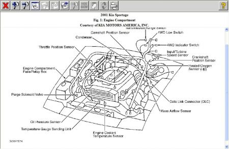 kia sportage 1997 engine diagram kia wiring diagrams online