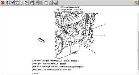 Enclave Engine Diagram in addition T7859719 O2 sensors side as well Pontiac Firebird 2001 Pontiac Firebird Radiator Fan Runs All The Time furthermore 2005 Pontiac Bonneville  ponent location besides Pontiac Aztek Crank Position Sensor Location. on map sensor location on pontiac bonneville