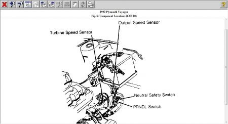 Output Speed Sensor