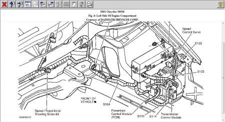 2001 chrysler 300 ecm location i would like to know where the ecm rh 2carpros com 2004 Chrysler 300M Engine Diagram Chrysler 300 Engine Diagram
