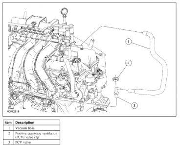Pcv on Ford Ranger Pcv Valve Location