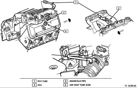 2004 chevy malibu egr valve location