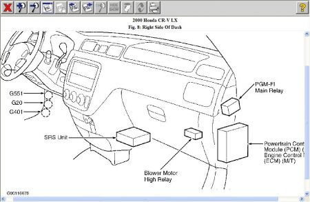 12900_pgmif_1 fuel pump and main relay location electrical problem 2000 honda 1994 honda accord main relay wiring diagram at gsmx.co