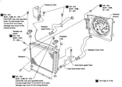 Pt Cruiser Cooling System Diagram     Turbododge   Forums F4 on 2001 pt cruiser radiator fan wiring diagram