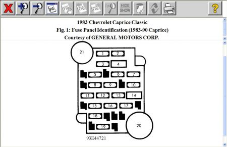 1983 chevy caprice fuse box find wiring diagram \u2022 1978 chevy truck fuse block 1983 chevy caprice where is the fuse for the radio rh 2carpros com 1983 chevy impala 1983 chevy caprice fuse box