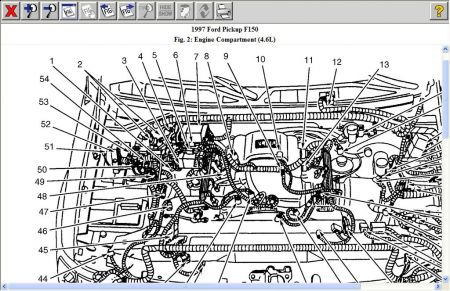 2005 ford f 150 engine diagram wiring diagram bookmark 2002 Ford F-150 Engine Diagram