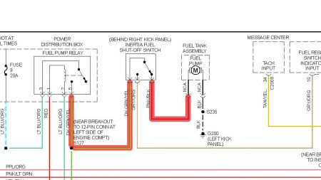 12900_relay_13 1998 ford explorer fuel pump won't run electrical problem 1998 1999 ford ranger fuel pump wiring diagram at panicattacktreatment.co