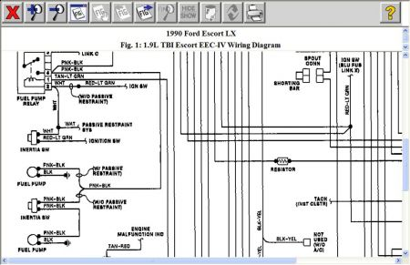 12900_relay_22 wiring diagram automotive ford escort 1990 readingrat net 1999 ford escort wiring diagram pdf at aneh.co