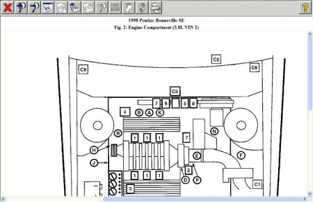 Diagram Of 2004 Pontiac Bonneville Motor on 2004 pontiac grand prix gtp fuse box diagram