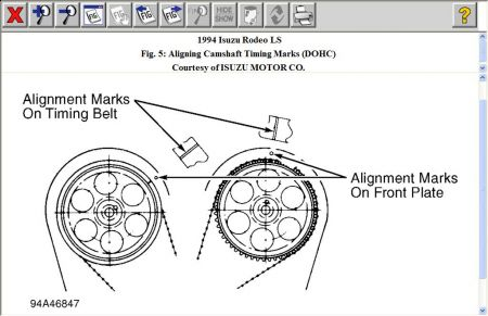 How To Set Timing For A 1994 Isuzu Space
