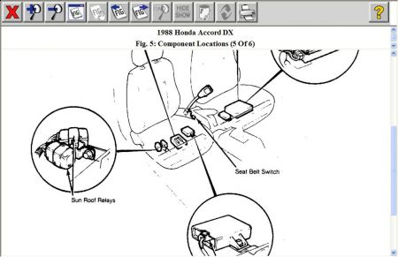Honda Accord Seat Belt Diagram Wiring Diagrams Regular A Regular A Miglioribanche It