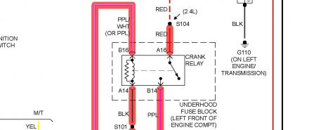 12900_starter_relay_13 2001 pontiac sunfire picture of starter wiring please Pontiac 3.4 Engine Diagram at cita.asia