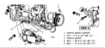 2000 Mercury Mystique Timing Belt Diagram