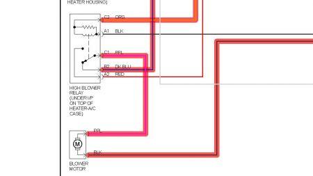 1997 Gmc C1500 Heater Ac Blower Will Not Work On High