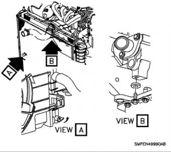 1993 saturn sw2 replacing thermostat: my dear old sw2 is ... water pump for 1995 saturn sl2 engine diagram #8