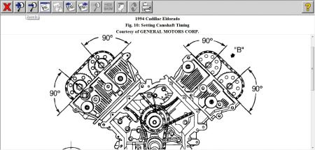 1994 cadillac el dorado timing spec diagram engine mechanical 1 reply