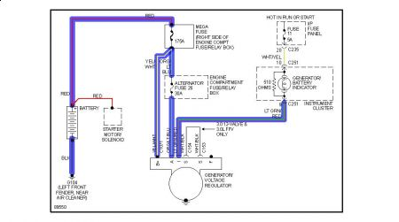 wiring diagram ford taurus the wiring diagram 1998 ford taurus testing wires that plug into alternator wiring diagram