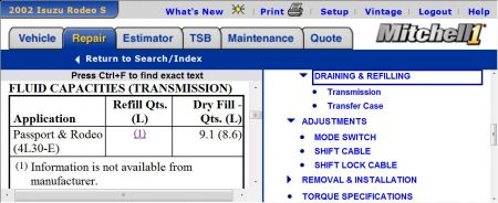 Automatic Transmission Fluid Fill Location I Have A 2000