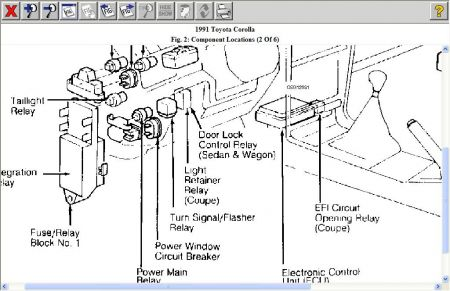 2001 Toyota Echo Parts Diagram