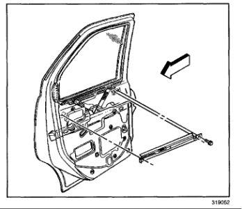 2002 gmc safari how to remove the window regulator and. Black Bedroom Furniture Sets. Home Design Ideas