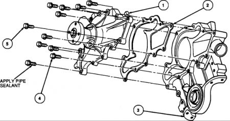 Ford Taurus Water Pump Bolts Diagram on automotive lift wiring diagram