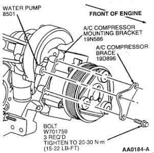 98 Ford Taurus Heater System Diagram