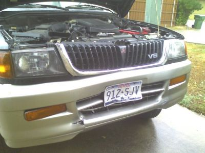 Mitsubishi Montero Sport 1998. 1998 Mitsubishi Montero
