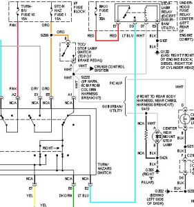 Chevy Tail Light Wiring Colors Wiring Diagrams Wni