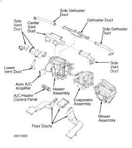1993 Infiniti J30 Engine Diagram 1993 Mercury Villager