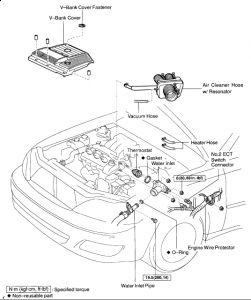 Toyota Avalon 2000 Toyota Avalon Thermostat