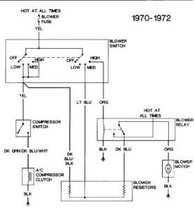 1972 other chevrolet models wiring diagram electrical