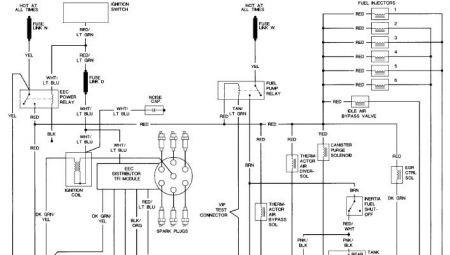 ford truck need diagram for ford electrical problem  engine cranking do you have spark at the plugs engine cranking you have voltage to injectors but no ground pulse the computer grounds the injector