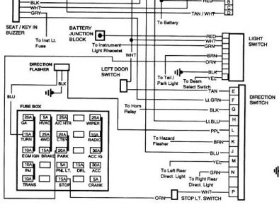 Chevrolet Truck 1992 Chevy Truck Park Lps Fuse Is Blown on gmc sierra tail light wiring diagram
