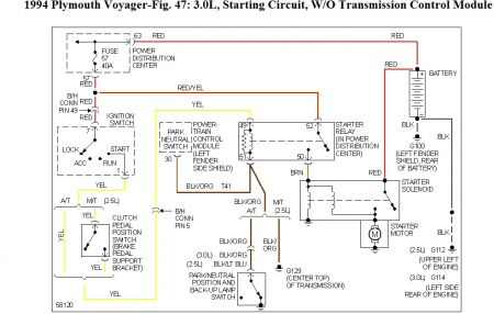 voyager 1 circuit diagram 1994 plymouth    voyager    not always starting when i turn on  1994 plymouth    voyager    not always starting when i turn on
