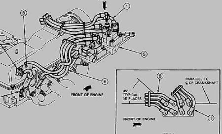 1994 Ford Ranger Engine Diagram 1994 Dodge Spirit Engine