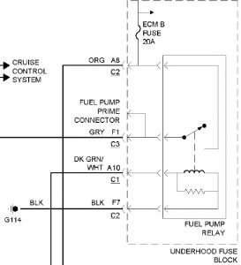 2002 s10 fuel pump wiring diagram 1999 chevy s-10 fuel pump don't run: where is fuel pump ... #6