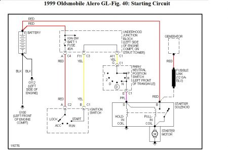 170934_alero_GL_starter_circuit_1 1999 oldsmobile alero 99 alero won't start help please wiring diagram for 2004 alero fuel pump at highcare.asia