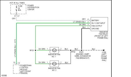 170934_caravan__fan_relay_1 cooling fan relay wiring diagram engine cooling fan wiring diagram  at virtualis.co