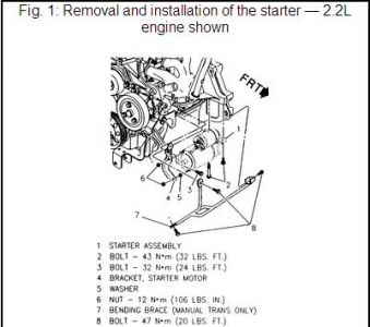 Cavalier Starter on 1997 chevy cavalier wiring diagram