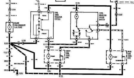170934_ford_f250_1 1985 ford f250 fuel tank wiring electrical problem 1985 ford f250 ford f250 wiring diagram at n-0.co