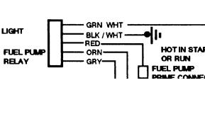 1993 Chevy Truck Fuel Supply Wiring Electrical Problem 1993 Chevy